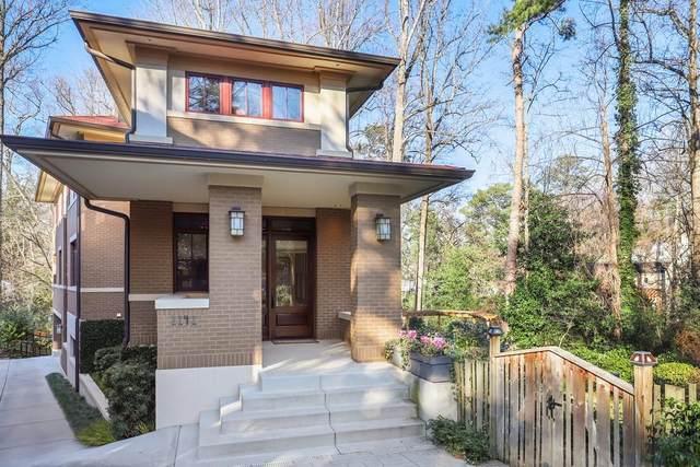 1141 Lanier Boulevard NE, Atlanta, GA 30306 (MLS #6684133) :: RE/MAX Paramount Properties