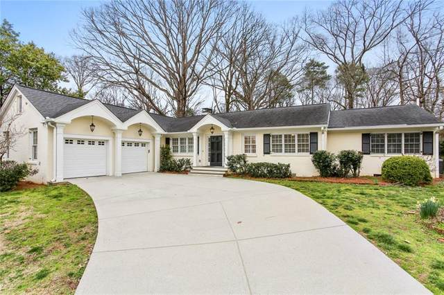 2867 Castlewood Drive NW, Atlanta, GA 30327 (MLS #6686379) :: The Zac Team @ RE/MAX Metro Atlanta