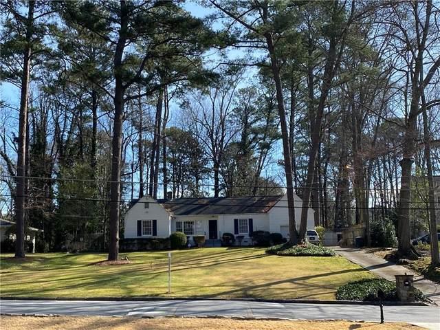 2881 Ashford Road, Brookhaven, GA 30319 (MLS #6687460) :: North Atlanta Home Team