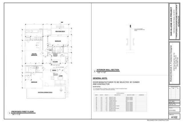 1449 Allene Avenue, Atlanta, GA 30310 (MLS #6687566) :: Kennesaw Life Real Estate