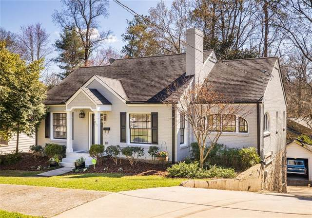 817 Highland Terrace NE, Atlanta, GA 30306 (MLS #6692938) :: Dillard and Company Realty Group