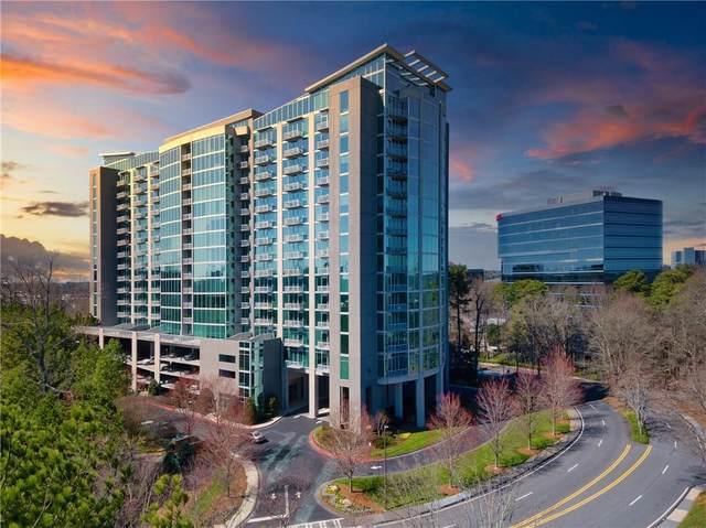 3300 Windy Ridge Parkway SE #507, Atlanta, GA 30339 (MLS #6697508) :: Rich Spaulding