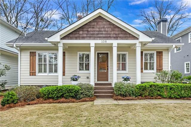 108 Spring Street, Decatur, GA 30030 (MLS #6698027) :: MyKB Partners, A Real Estate Knowledge Base