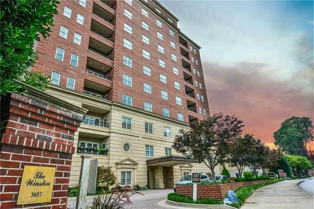 3657 Peachtree Road NE 6-B, Atlanta, GA 30319 (MLS #6698119) :: Rich Spaulding