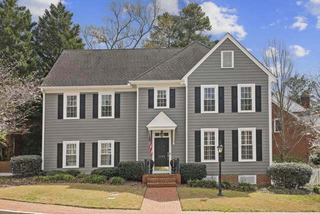 1244 Village Run NE, Brookhaven, GA 30319 (MLS #6699180) :: North Atlanta Home Team