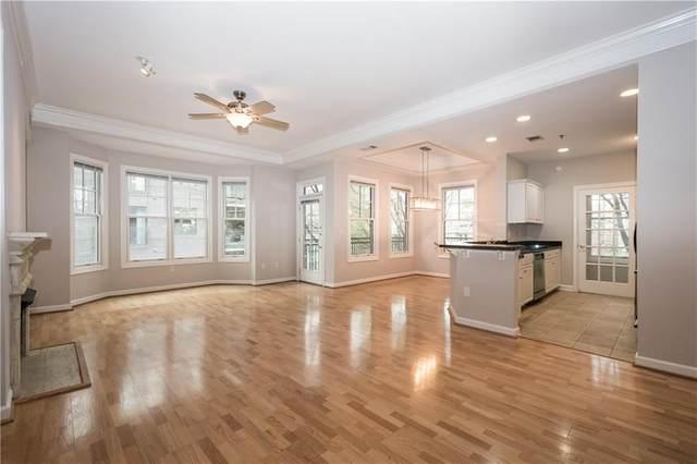 850 Piedmont Avenue NE #1303, Atlanta, GA 30308 (MLS #6699251) :: Rich Spaulding
