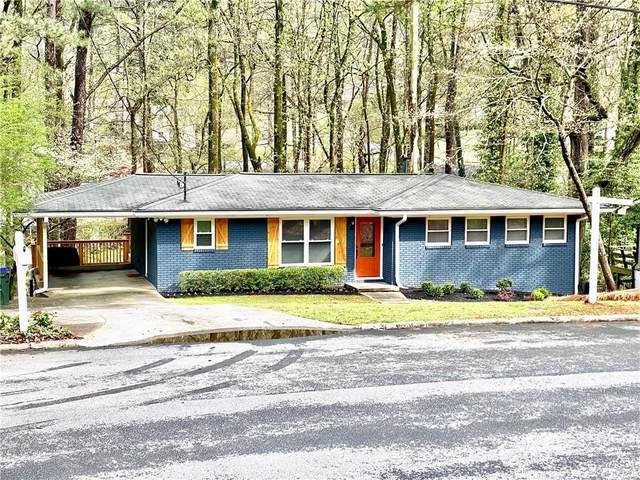 2487 Woodacres Road NE, Atlanta, GA 30345 (MLS #6700350) :: RE/MAX Paramount Properties