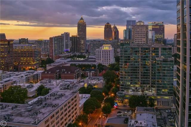 855 Peachtree Street NE #1406, Atlanta, GA 30308 (MLS #6704122) :: Rich Spaulding