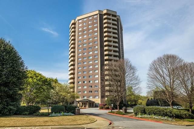 1501 Clairmont Road #1115, Decatur, GA 30033 (MLS #6704354) :: North Atlanta Home Team