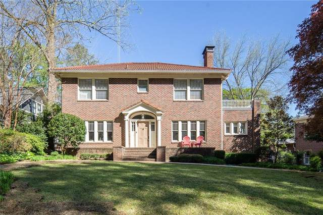 1436 Harvard Road NE, Atlanta, GA 30306 (MLS #6705368) :: RE/MAX Prestige