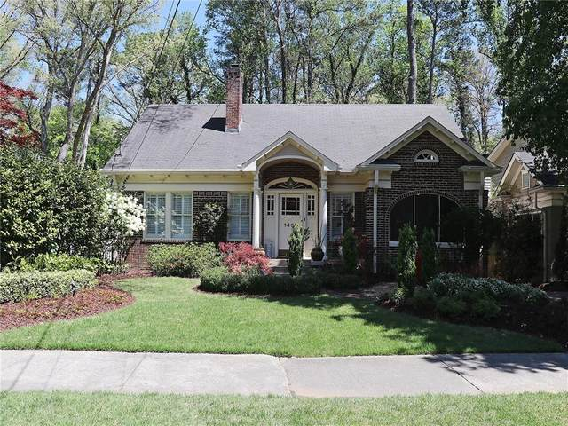 1437 N Morningside Drive NE, Atlanta, GA 30306 (MLS #6705589) :: Dillard and Company Realty Group