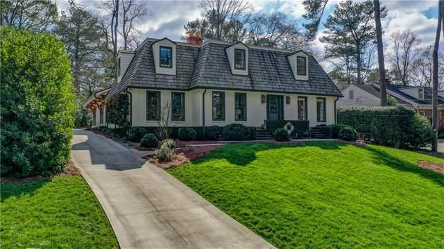 1494 Hanover West Drive NW, Atlanta, GA 30327 (MLS #6705612) :: Thomas Ramon Realty