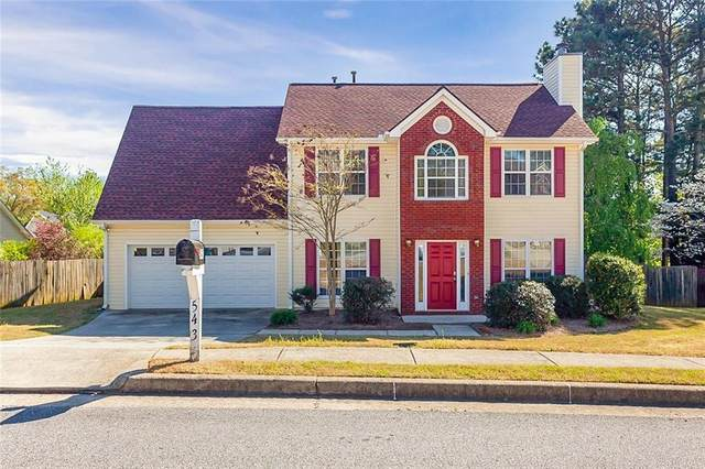 543 Alcovy Park Drive, Lawrenceville, GA 30045 (MLS #6705994) :: The North Georgia Group