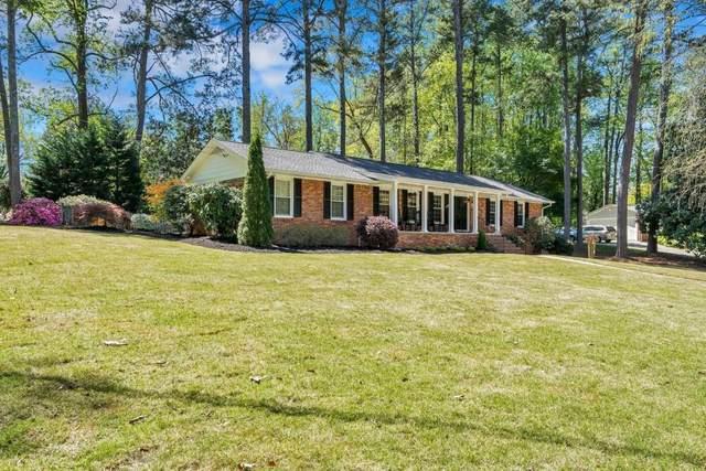 6464 Whispering Trail, Sandy Springs, GA 30328 (MLS #6706824) :: Kennesaw Life Real Estate