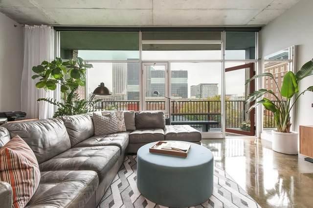 845 Spring Street #422, Atlanta, GA 30308 (MLS #6707408) :: Kennesaw Life Real Estate