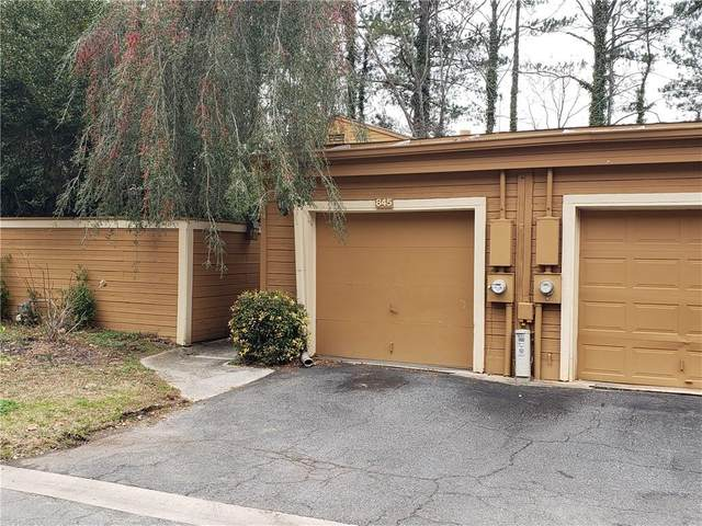 845 Lake Hollow Boulevard SW, Marietta, GA 30064 (MLS #6707716) :: Rock River Realty