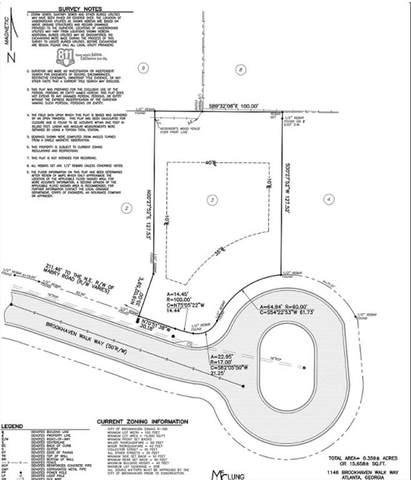 1146 Brookhaven Walk Way, Brookhaven, GA 30319 (MLS #6707870) :: The North Georgia Group