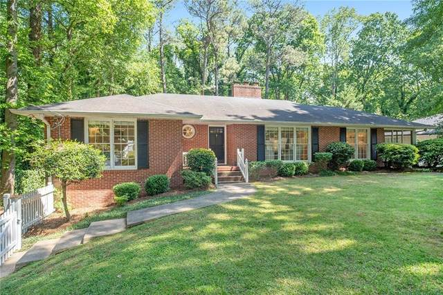 240 Forest Hills Drive, Atlanta, GA 30342 (MLS #6718042) :: The Butler/Swayne Team