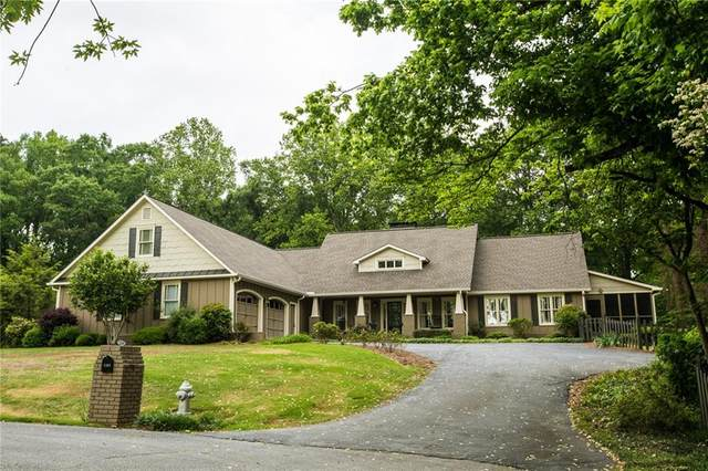 5169 Lakewood Drive NW, Acworth, GA 30101 (MLS #6718209) :: Path & Post Real Estate