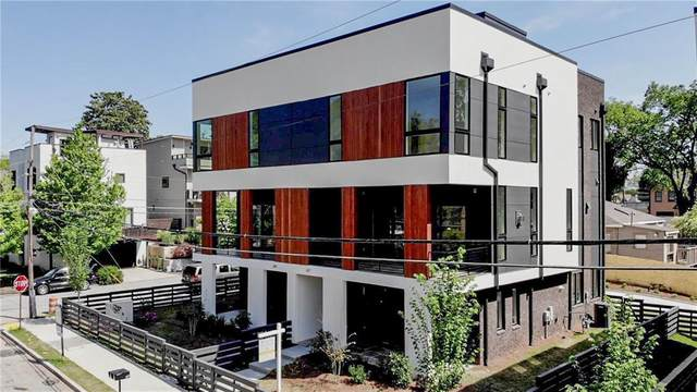 613 East Avenue NE, Atlanta, GA 30312 (MLS #6718735) :: The Justin Landis Group