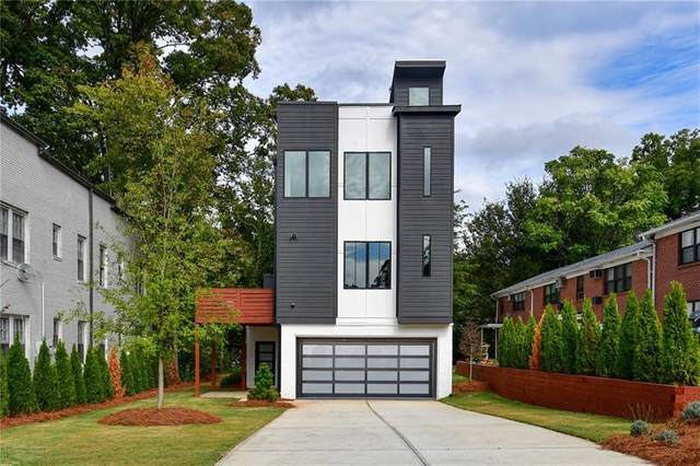 1010 Greenwood Avenue NE A, Atlanta, GA 30306 (MLS #6720286) :: RE/MAX Prestige