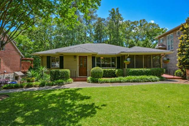 1191 NE University Drive NE, Atlanta, GA 30306 (MLS #6720926) :: Team RRP | Keller Knapp, Inc.