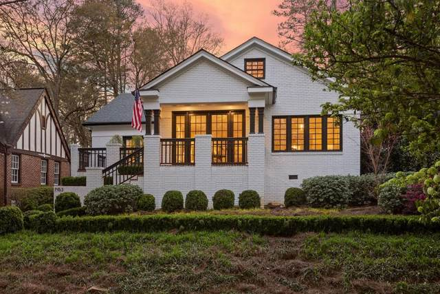1453 Emory Road NE, Atlanta, GA 30306 (MLS #6722935) :: The Butler/Swayne Team