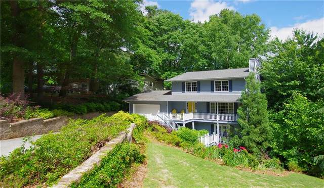 2615 Lake Flair Circle NE, Atlanta, GA 30345 (MLS #6724239) :: RE/MAX Paramount Properties