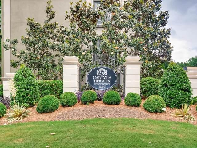 1445 Monroe Drive NE A10, Atlanta, GA 30324 (MLS #6726683) :: North Atlanta Home Team