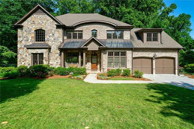 1660 Doncaster Drive NE, Atlanta, GA 30309 (MLS #6728118) :: Good Living Real Estate
