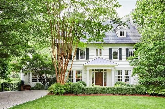 2855 Normandy Drive NW, Atlanta, GA 30305 (MLS #6728474) :: Charlie Ballard Real Estate