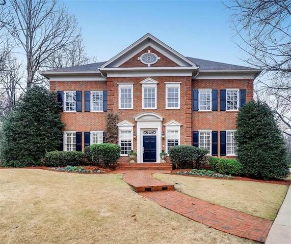 1382 Wesley Circle, Atlanta, GA 30327 (MLS #6728733) :: The North Georgia Group