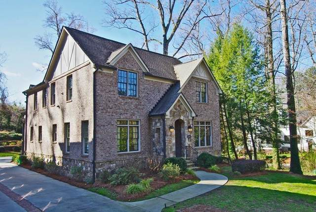 1261 University Drive NE, Atlanta, GA 30306 (MLS #6728833) :: Thomas Ramon Realty