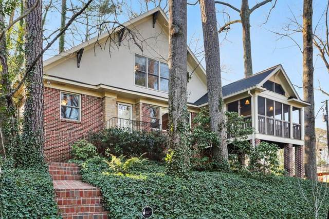 1824 Charline Avenue NE, Atlanta, GA 30306 (MLS #6729304) :: Kennesaw Life Real Estate