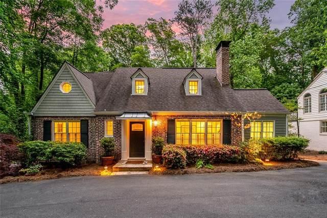 3837 Peachtree Dunwoody Road NE, Atlanta, GA 30342 (MLS #6729381) :: Thomas Ramon Realty