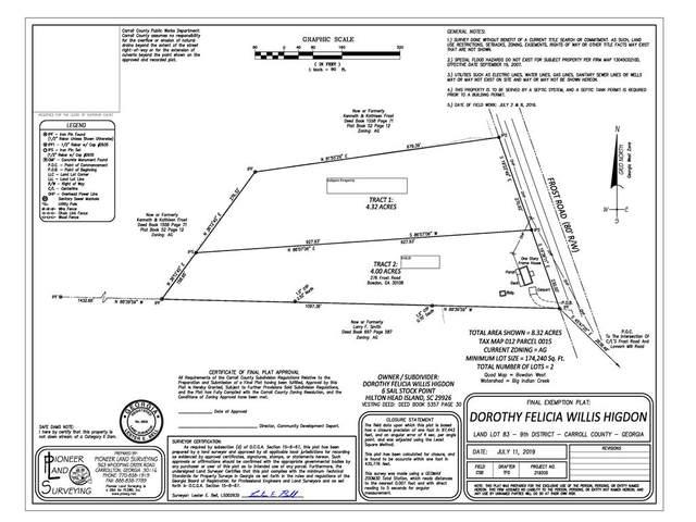 0 Frost Road, Bowdon, GA 30108 (MLS #6729394) :: Path & Post Real Estate