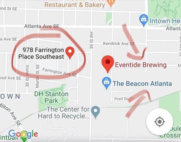 978 Farrington Place SE, Atlanta, GA 30315 (MLS #6729936) :: The Heyl Group at Keller Williams