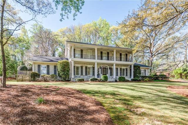 730 Old Post Road, Atlanta, GA 30328 (MLS #6730961) :: Kennesaw Life Real Estate