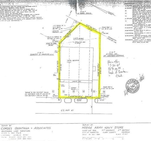 507 Cobb Parkway S, Marietta, GA 30060 (MLS #6731032) :: The Heyl Group at Keller Williams