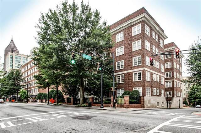800 Peachtree Street NE #1419, Atlanta, GA 30308 (MLS #6731168) :: The Zac Team @ RE/MAX Metro Atlanta