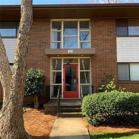 10 26th Street NW F3, Atlanta, GA 30309 (MLS #6731225) :: Kennesaw Life Real Estate