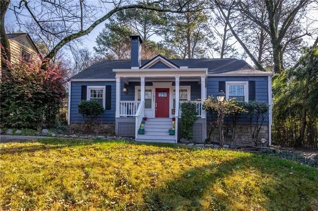 1885 Monroe Drive NE, Atlanta, GA 30324 (MLS #6731890) :: Charlie Ballard Real Estate
