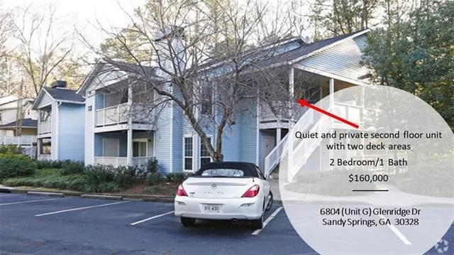 6800 Glenridge Drive 6804#G, Sandy Springs, GA 30328 (MLS #6732106) :: The Zac Team @ RE/MAX Metro Atlanta
