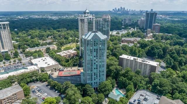 2870 Pharr Court #606, Atlanta, GA 30305 (MLS #6732222) :: The Zac Team @ RE/MAX Metro Atlanta