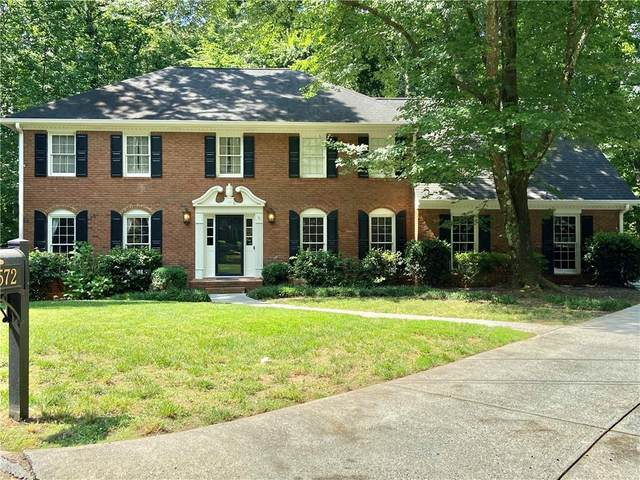 5572 Bostwick Court, Peachtree Corners, GA 30092 (MLS #6733517) :: North Atlanta Home Team