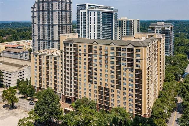 1101 Juniper Street NE #1520, Atlanta, GA 30309 (MLS #6733860) :: The Zac Team @ RE/MAX Metro Atlanta