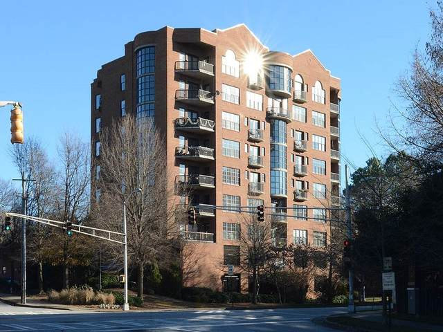 395 Central Park Place NE #450, Atlanta, GA 30312 (MLS #6735090) :: Thomas Ramon Realty