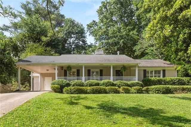 420 Brookfield Drive, Sandy Springs, GA 30342 (MLS #6735603) :: The Heyl Group at Keller Williams