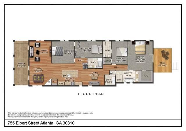 755 Elbert Street, Atlanta, GA 30310 (MLS #6735987) :: RE/MAX Paramount Properties