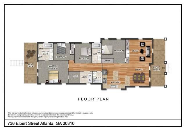 736 Elbert Street, Atlanta, GA 30310 (MLS #6736068) :: RE/MAX Paramount Properties